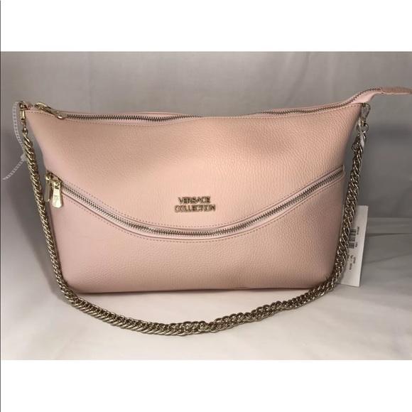 130d50b62de Versace Collection Bags | Clutch Vitello Stampa Alce Pink | Poshmark
